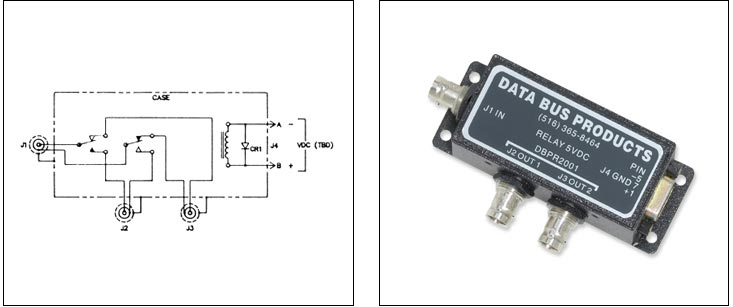 Mil-Std 1553 Databus Components: Relays / Switches